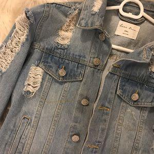 Small Distressed Denim Jacket
